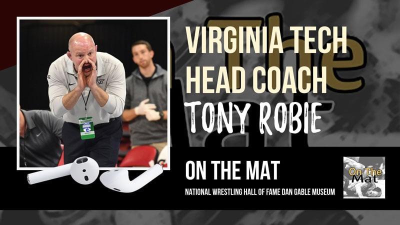 Virginia Tech head coach Tony Robie – OTM560