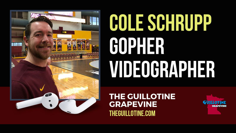 Cole Schrupp provides powerful and popular videos for Gopher wrestling – GG53