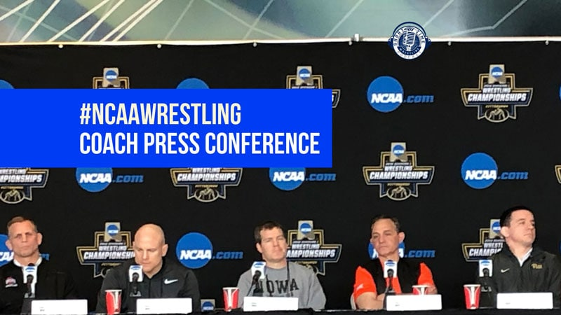 Coach Press Conference – 2019 #NCAAwrestling Division I Championships