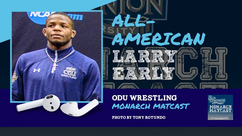 2019 NCAA Division I All-American Larry Early – ODU62