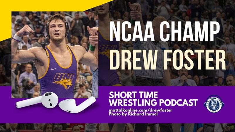 NCAA Champion Drew Foster of Northern Iowa