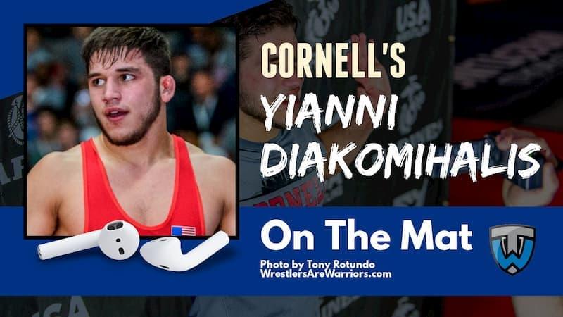 U.S. Open champion and two-time NCAA champion Yianni Diakomihalis of Cornell – OTM568