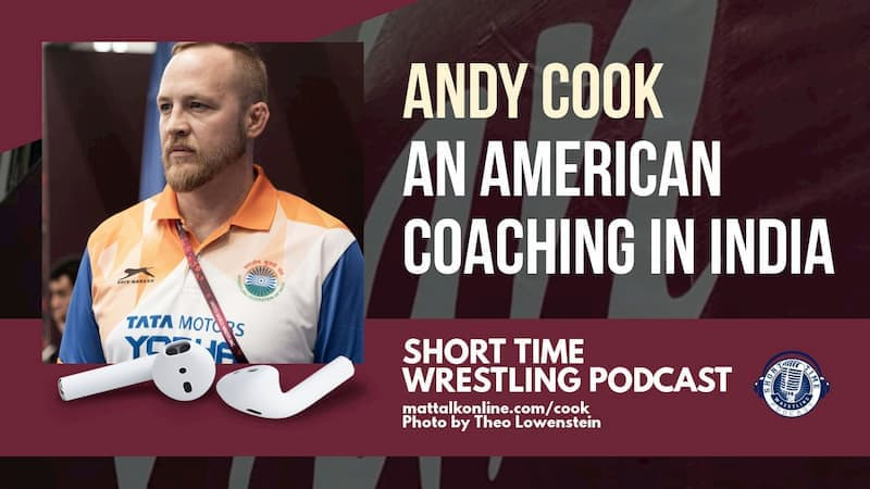 Washington native and Indian women's national freestyle coach Andy Cook