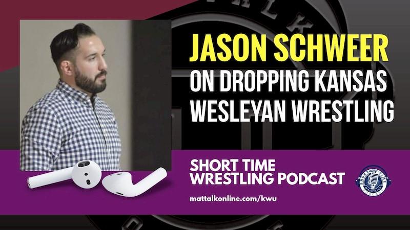 Coach Jason Schweer talks about the loss of his Kansas Wesleyan wrestling program