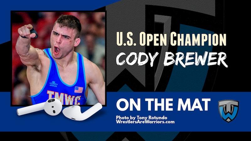 U.S. Open Champion Cody Brewer & Ocean Springs H.S. (Miss.) coach Jay Snow – OTM569
