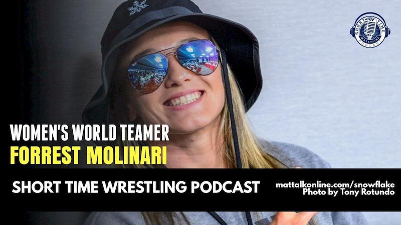 Women's World Teamer Forrest Molinari on life in the Hawkeye Wrestling Club