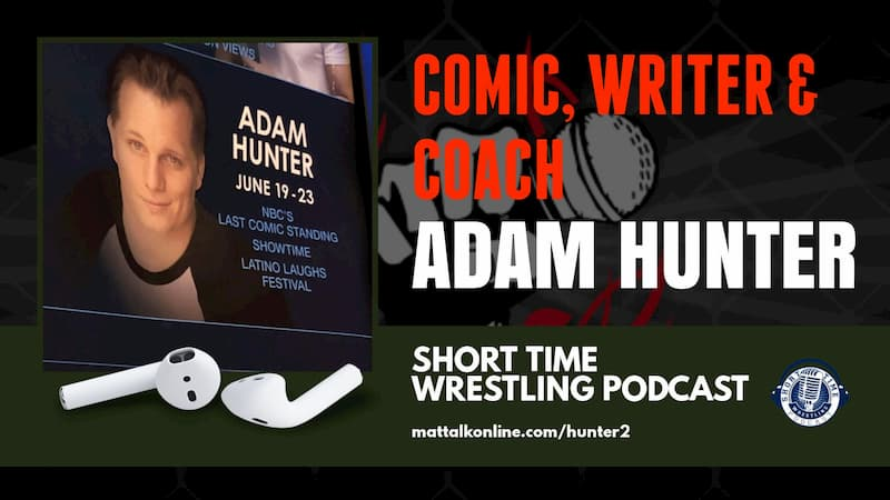 Comic, writer and coach Adam Hunter returns to Short Time