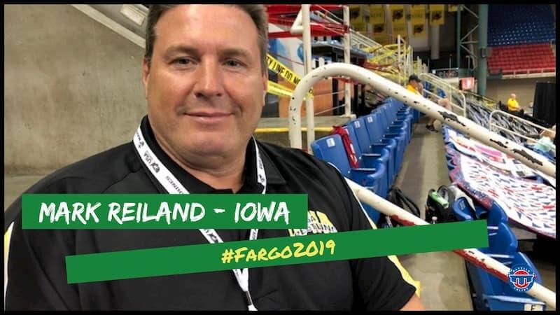 #Fargo2019: Iowa state chairman and 1991 NCAA champion Mark Reiland