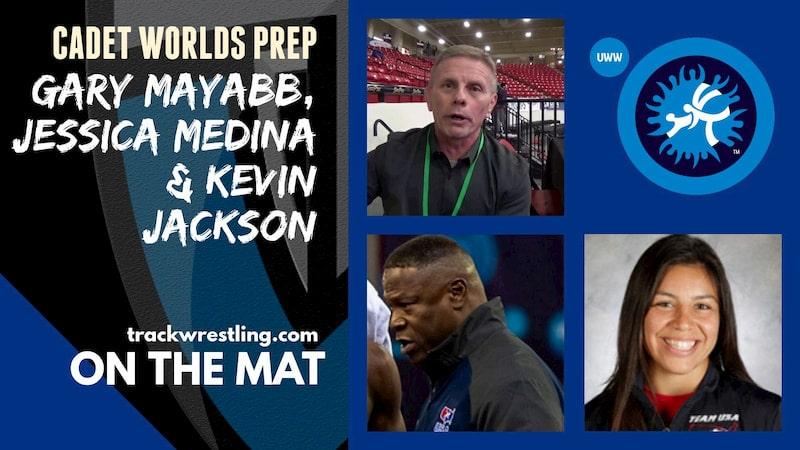 USA Wrestling Developmental coaches Gary Mayabb, Kevin Jackson and Jessica Medina – OTM580