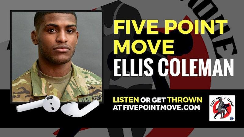5PM27: U.S. Greco-Roman World Teamer Ellis Coleman of the U.S. Army