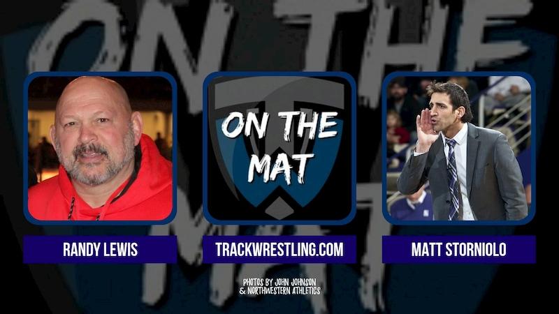 Olympic champion Randy Lewis and Northwestern coach Matt Storniolo – OTM581