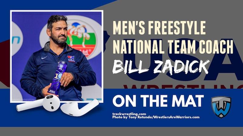 U.S. Men's Freestyle National Team Coach Bill Zadick – OTM583