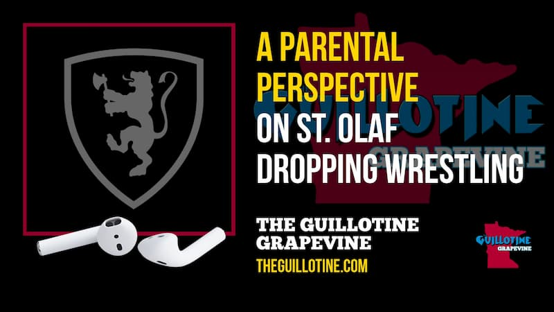 Parents perspective on St. Olaf dropping wrestling – GG61