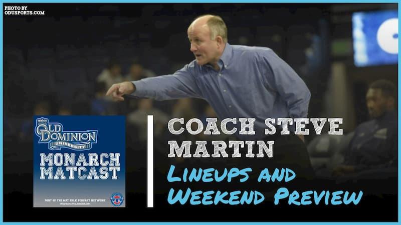 Coach Steve Martin talks season openers and expected lineups for 2019-20 – ODU67