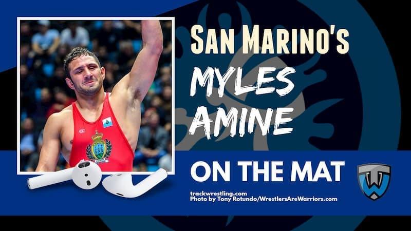 Myles Amine, San Marino wrestling rep and three-time Michigan All-American – OTM585