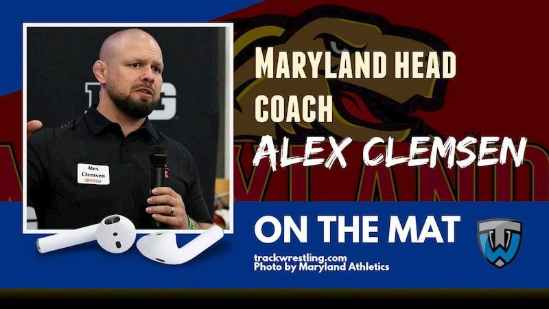 Alex Clemsen, Maryland head wrestling coach – OTM586