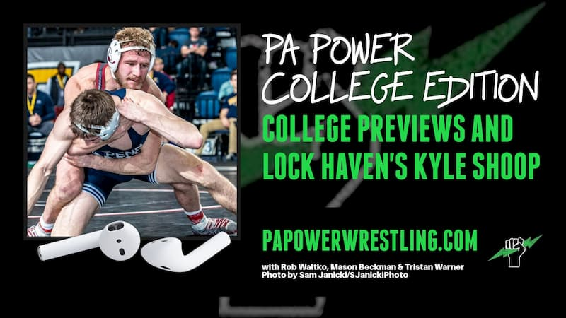 The College Podcast Previews Lock Haven with Guest Kyle Shoop Plus Much More