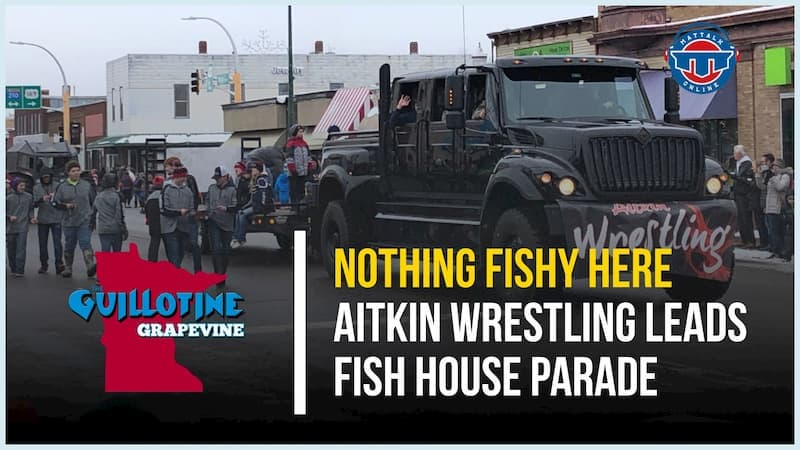 Aitkin wrestling leads the Fish House Parade on Thanksgiving Weekend – GG63