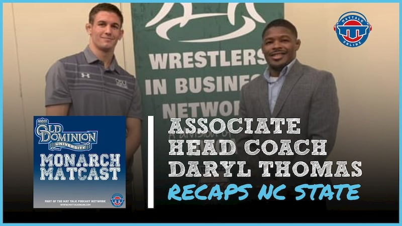 Daryl Thomas recaps ODU's loss to No. 9 NC State, looks ahead to Navy Classic – ODU68