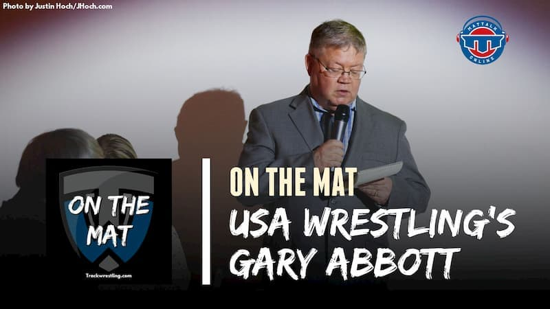 Gary Abbott, USA Wrestling Director of Communications and 2020 National Wrestling Hall of Fame Inductee – OTM589