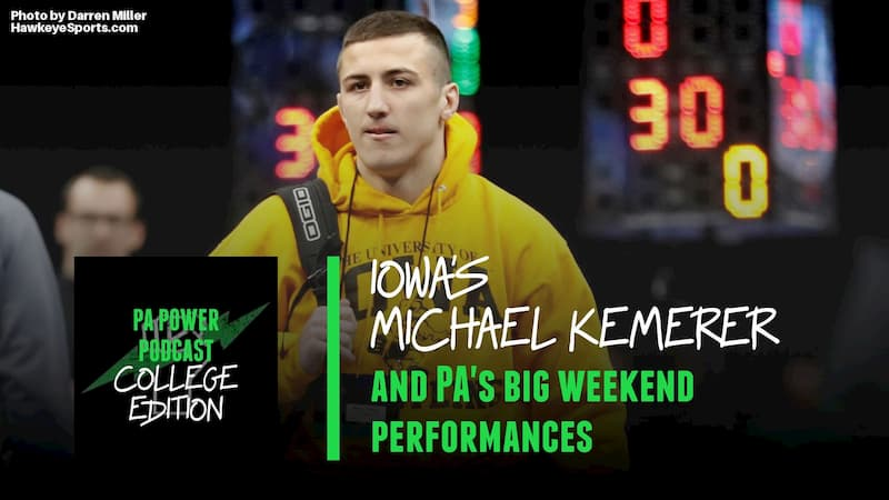PAPC57: Talking With Iowa's Michael Kemerer and Previewing Weekend Action