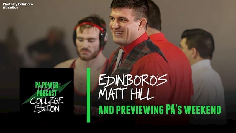 Edinboro Head Coach Matt Hill Joins The College Podcast