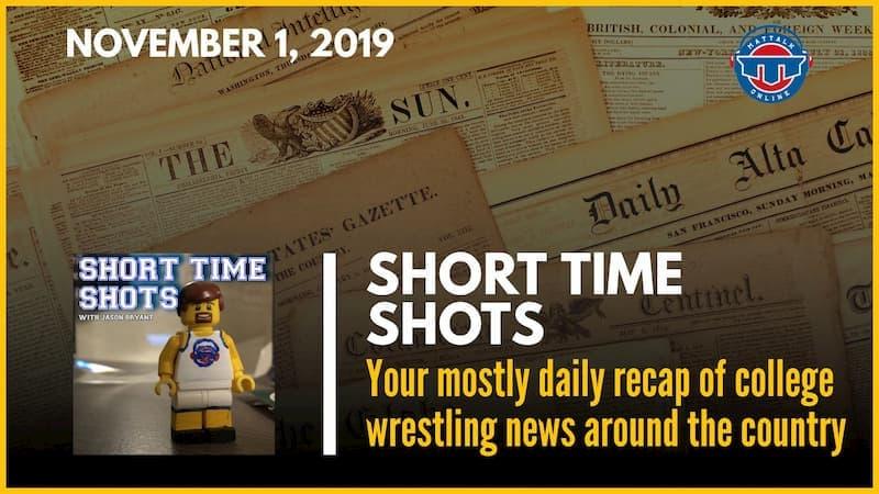 Short Time Shots: 11-01-19