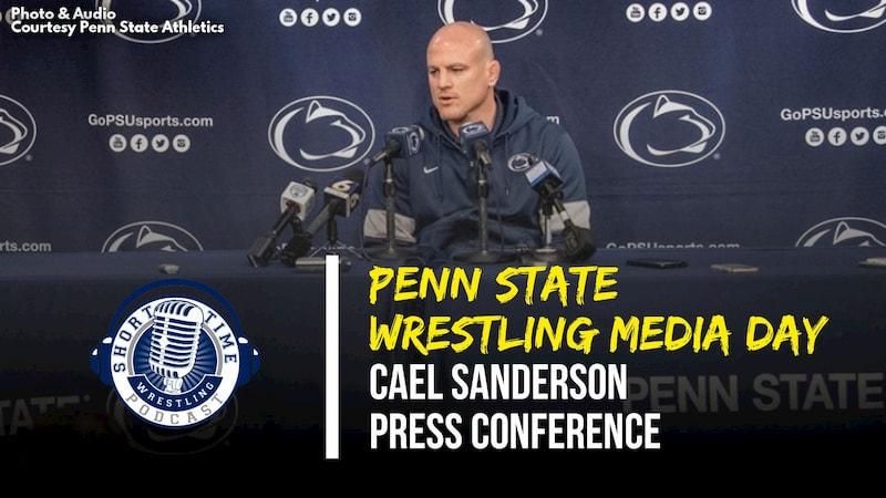 Penn State Media Day with head coach Cael Sanderson