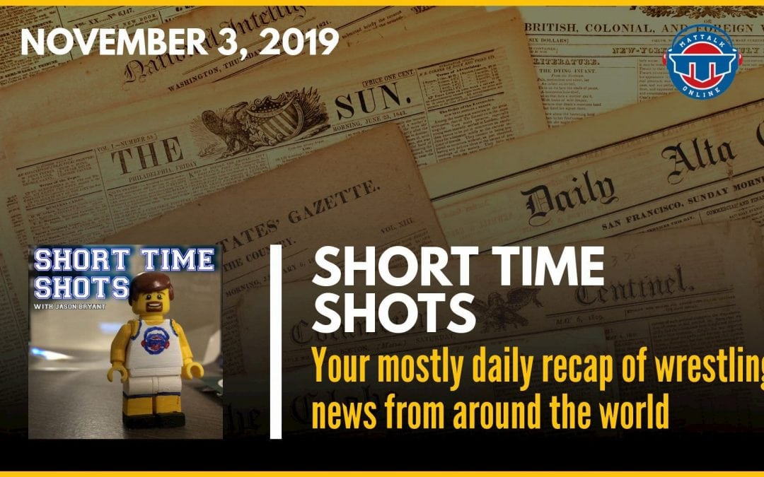 Short Time Shots: 11-03-19