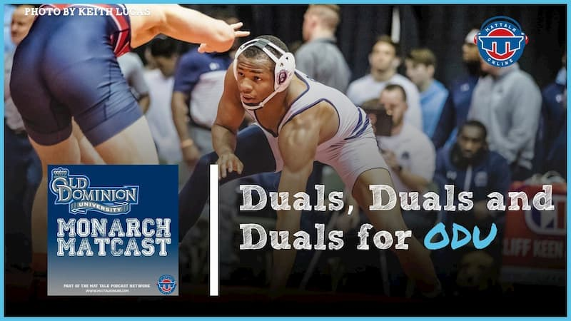 Recapping a rugged two weeks of duals with Daryl Thomas – ODU70