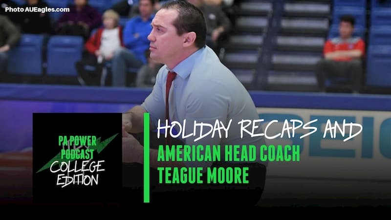 The College Podcast Hosts Pennsylvania Native Teague Moore of American