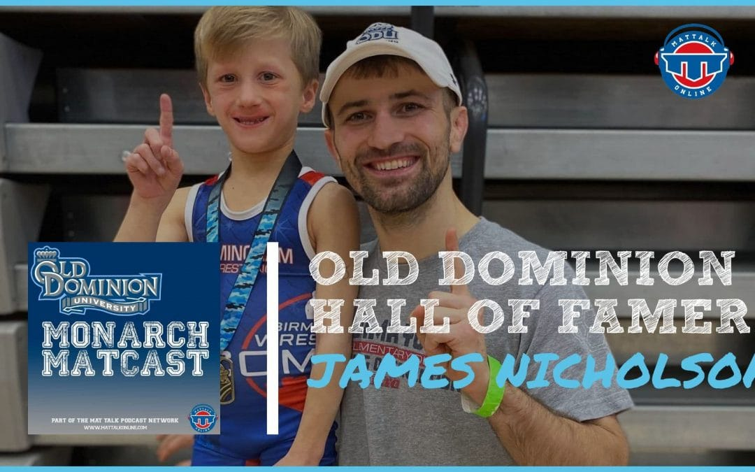 ODU Sports Hall of Famer and two-time All-American James Nicholson – ODU71