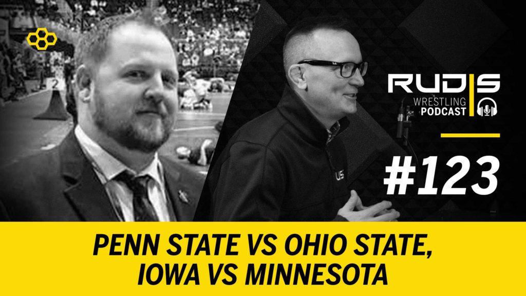 The RUDIS Podcast #123: Penn State vs Ohio State, Iowa vs Minnesota