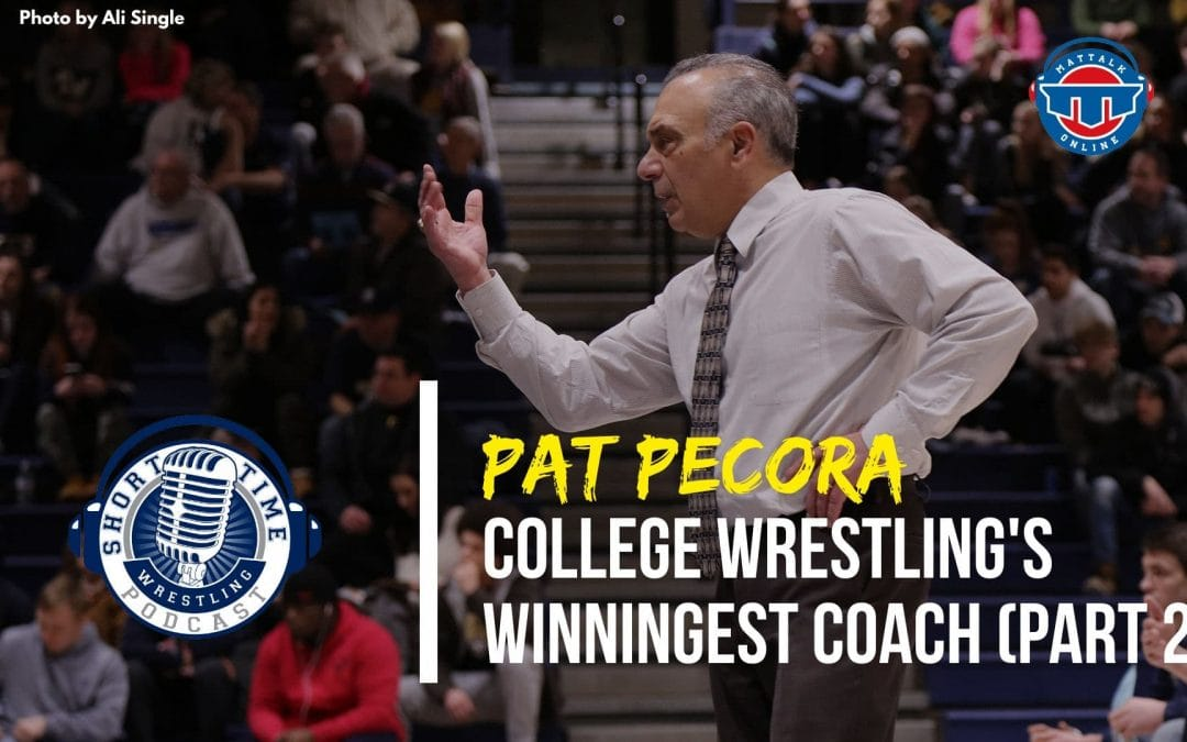 The story behind college wrestling's winningest coach, Pat Pecora (Part 2)