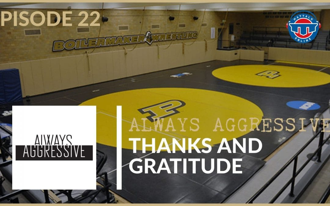 Thanks and Gratitude from the Purdue staff – AA22