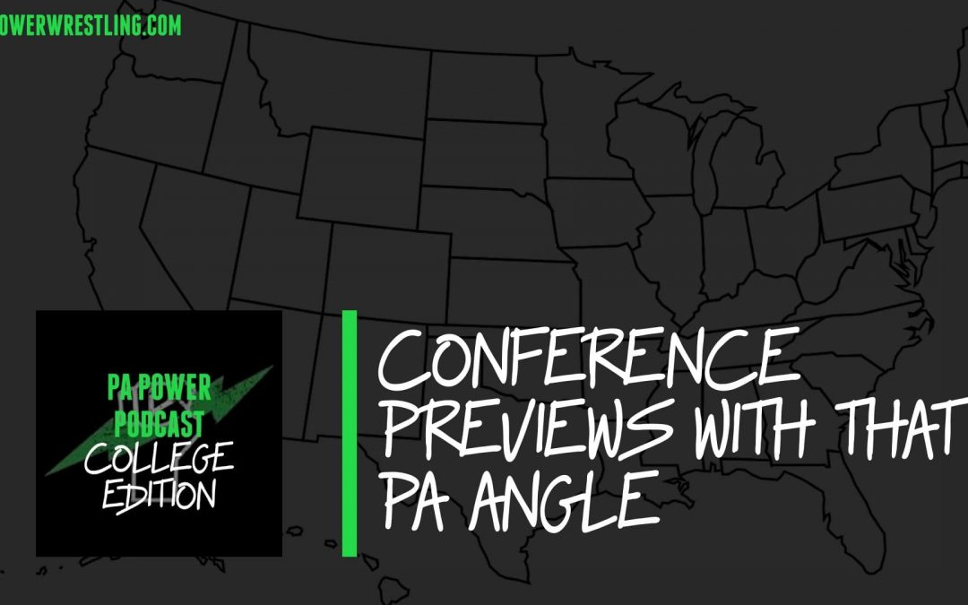The College Podcast Previews Pennsylvania Wrestlers at Conference Tournaments – PAPC66
