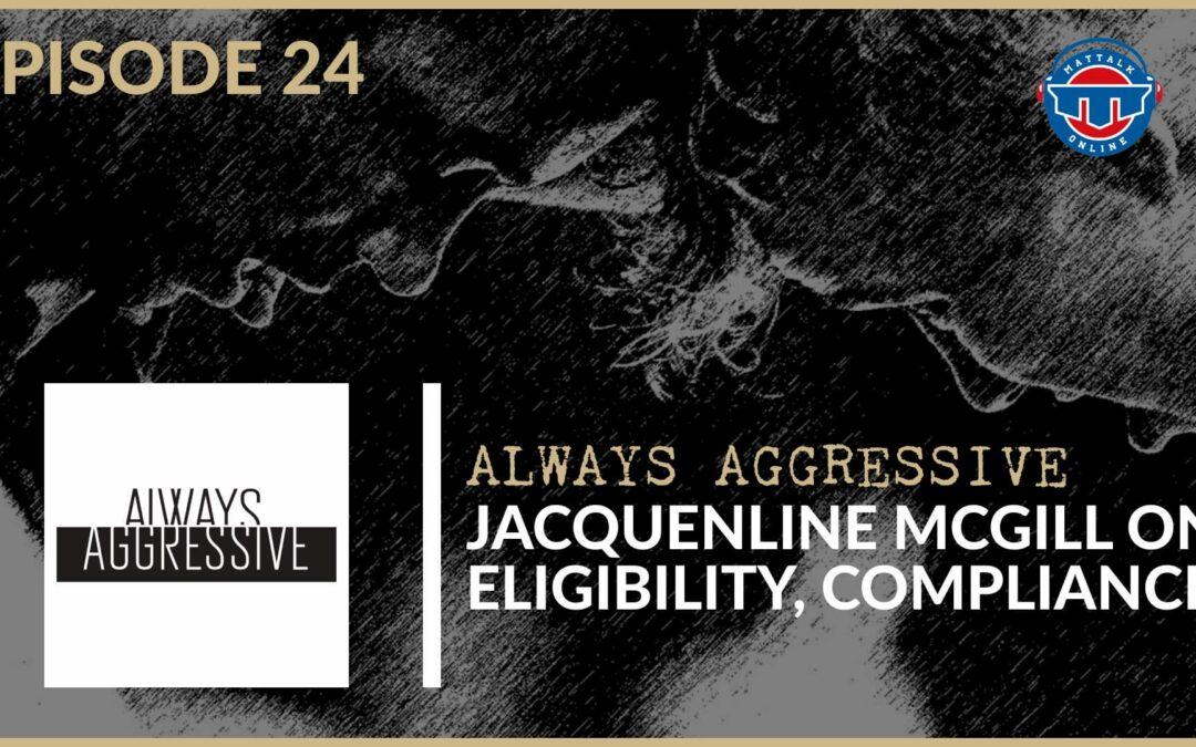 Purdue Assistant Dir. of Compliance Jacqueline McGill – AA24