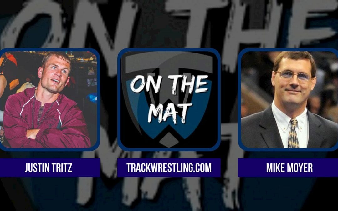 NWCA Executive Director Mike Moyer and Trackwrestling founder Justin Tritz – OTM606