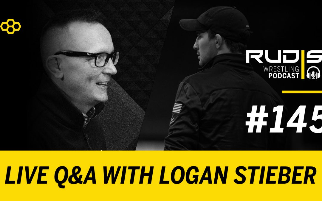 The RUDIS Podcast #145: LIVE Q&A with Logan Stieber