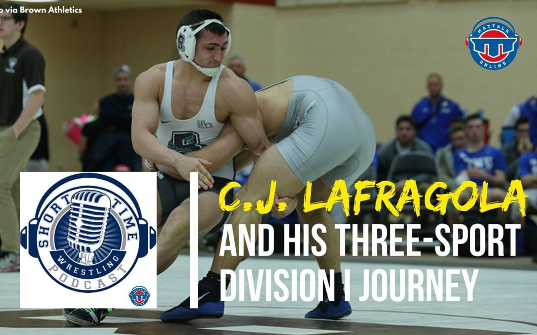 Brown alum C.J. LaFragola became a three-sport athlete after grad transfer to Sacred Heart