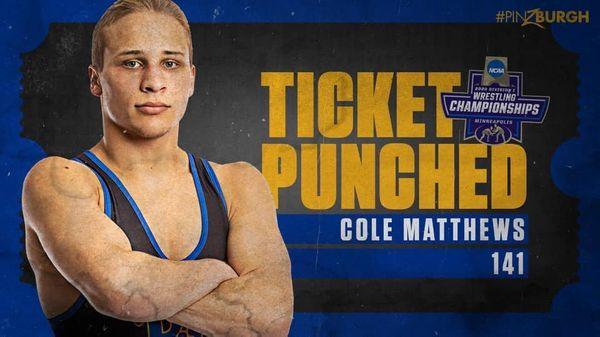 Reynolds Product Cole Matthews Talks NCAA Tournament Cancellation and Pitt Wrestling