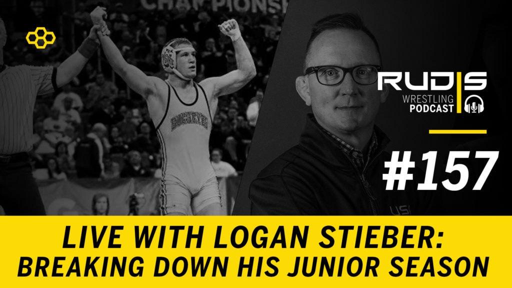 The RUDIS Podcast #157: LIVE with Logan Stieber – Junior Season
