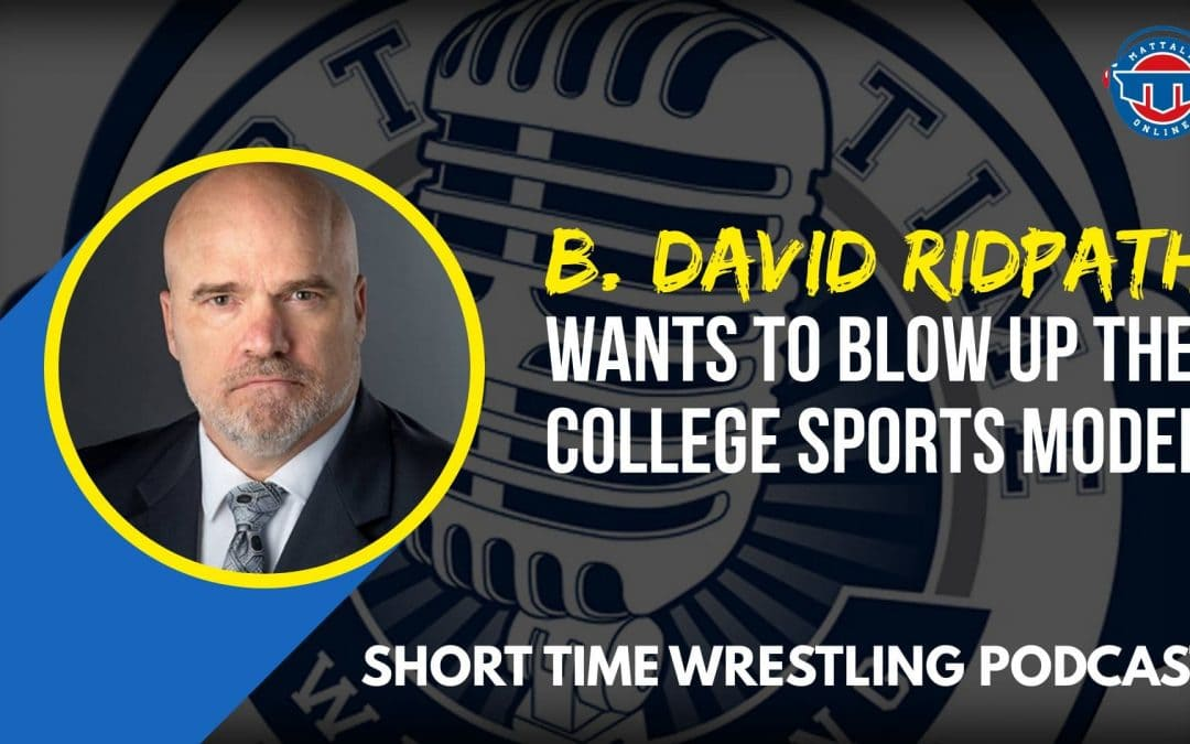 Talking college sports with The Drake Group's Dr. David Ridpath