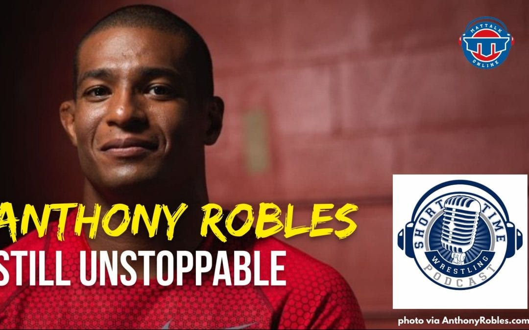 Anthony Robles is still going strong