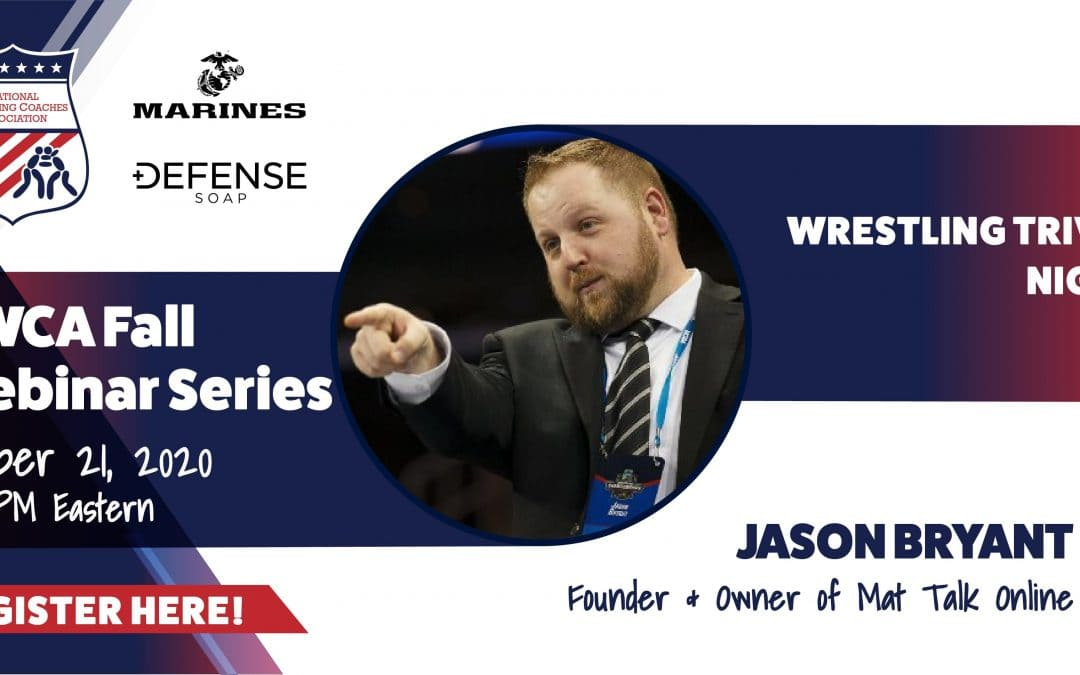 NWCA Webinar Series: Trivia Night #2 hosted by Jason Bryant of Mat Talk Online – SOW8