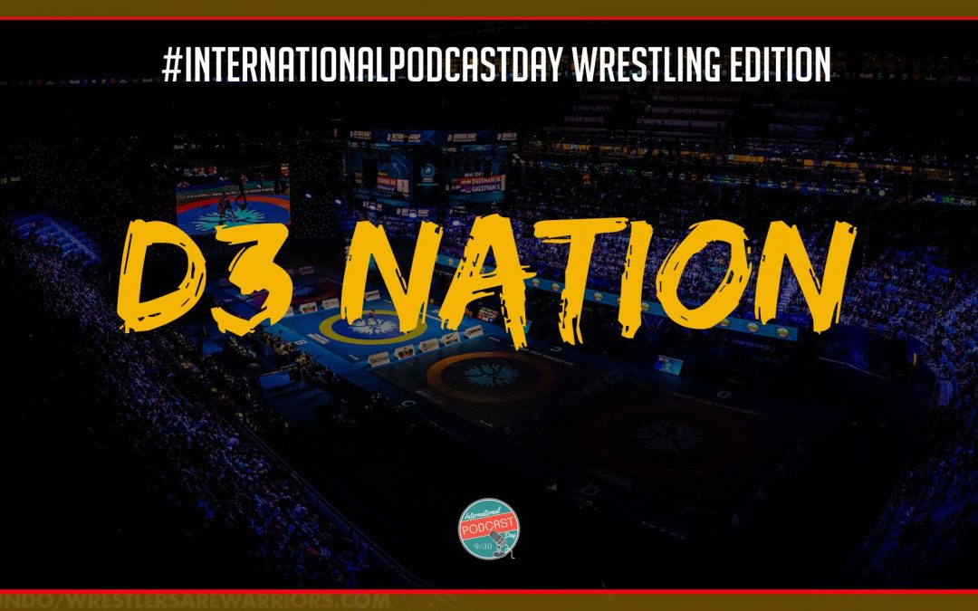 Twin coaches Anthony and Gennaro Bonaventura talk D3 wrestling, podcasting and coaching #InternationalPodcastDay