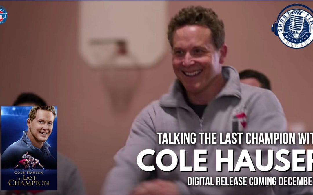 Cole Hauser talks about his role as a former wrestler and coach in The Last Champion