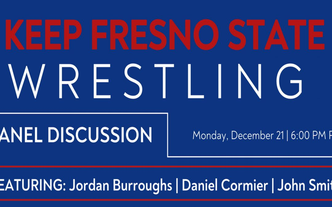 Launching the Keep Fresno State Wrestling campaign