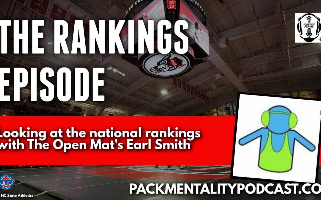 The Rankings Episode with The Open Mat's Earl Smith – NCS72