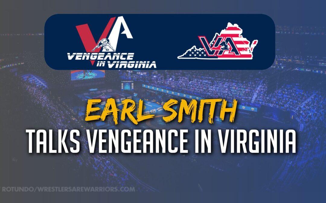 Earl Smith breaking down the Vengeance in Virginia on December 6